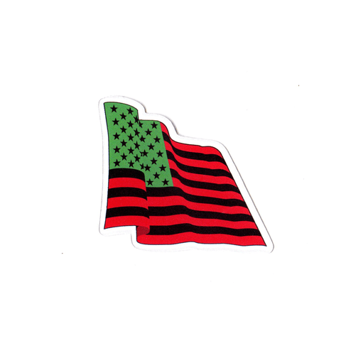 Wave The Flag Sticker