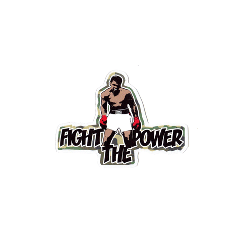 Ali Fight Sticker