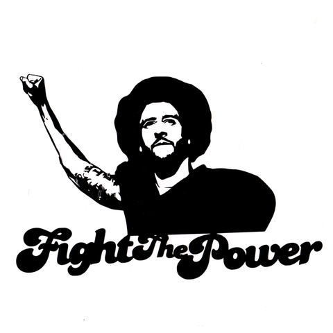 Kap Fight Vinyl Cling Decal
