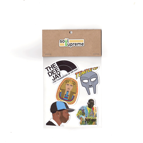 Hip-Hop 1 Sticker Pack