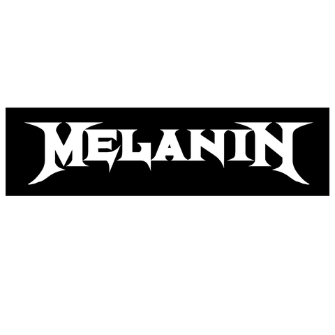 Melanin Rocks Bumper Sticker