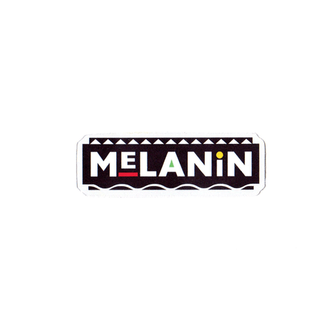 Melanin So Crazy Sticker