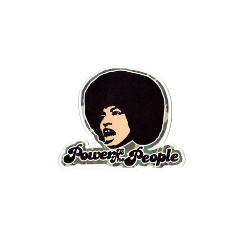 Angela Power Sticker