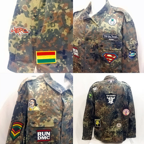 Belly Camouflage Officer Jacket