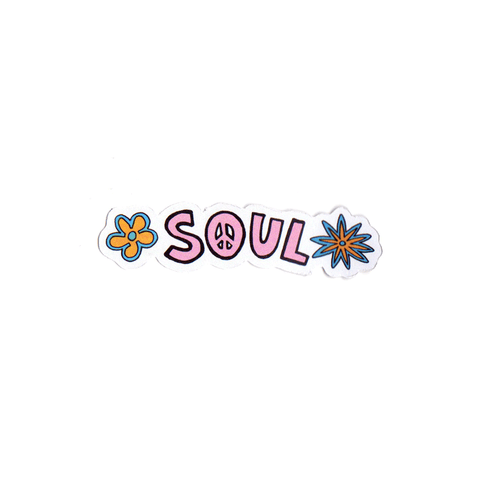 Soul Flowers Sticker