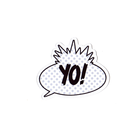 Yo Baby Sticker