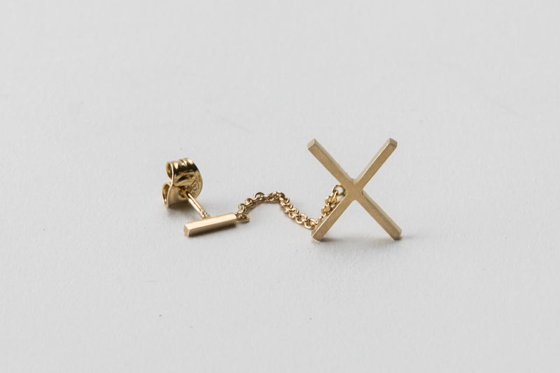 At Six Chain Earring