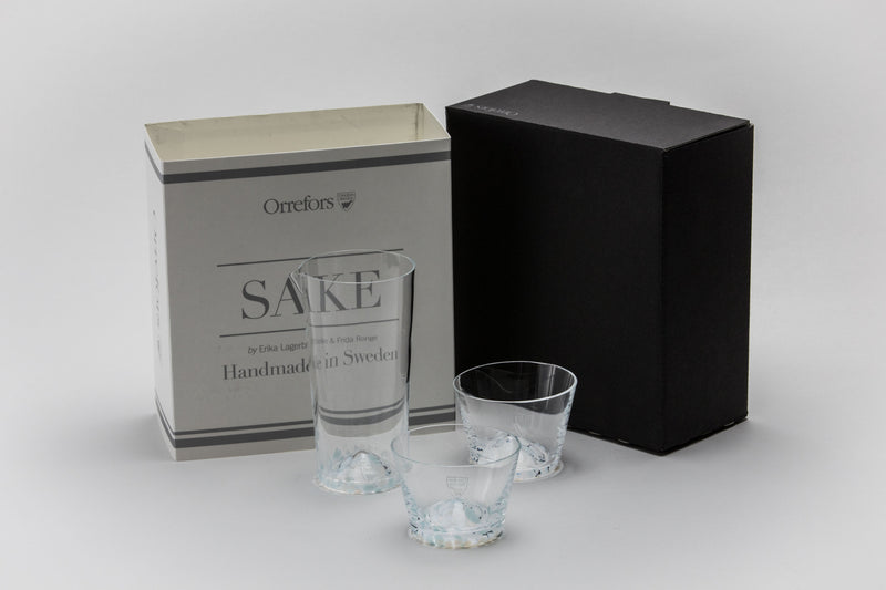 At Six Saké Glasses