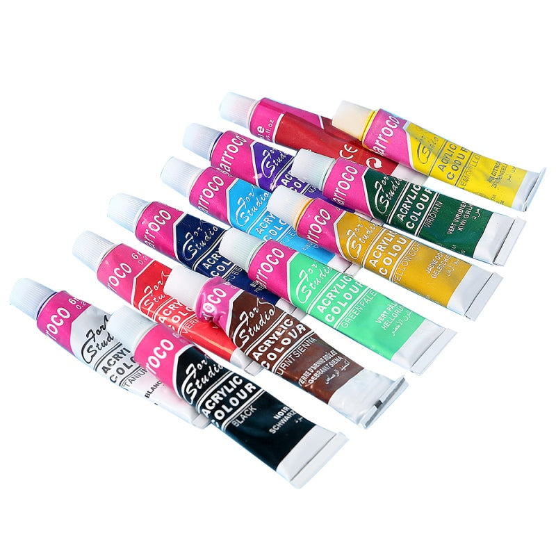 Pro Acrylic Paints Kit L Arts Acrylic Paint Set L 12 Tube Art Kit L