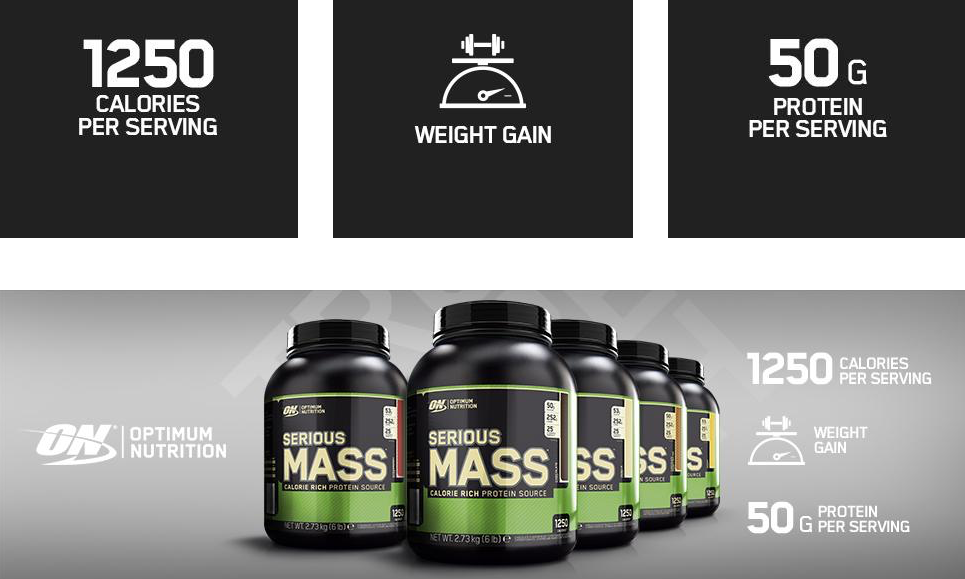 Optimum Nutrition ON Serious mass gainer | proteine masa musculara