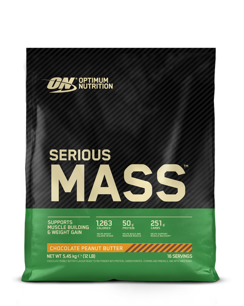 Optimum Nutrition ON Serious Mass gainer 5.45kg