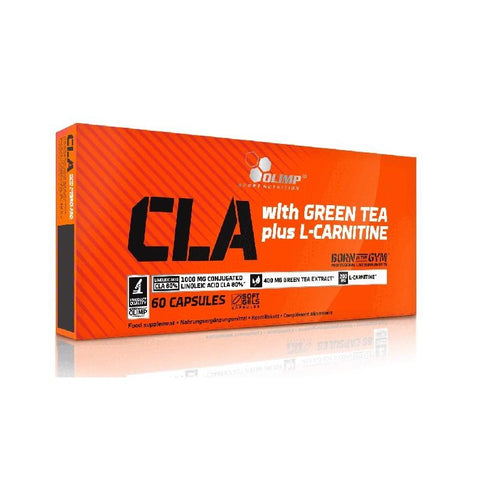 CLA si L Carnitina | Olimp Sport Nutrition | CLA with Green Tea plus L Carnitine sport edition