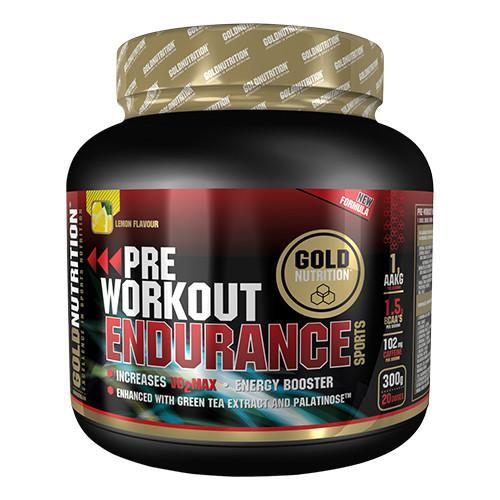 Pre Workout Gold Nutrition Endurance