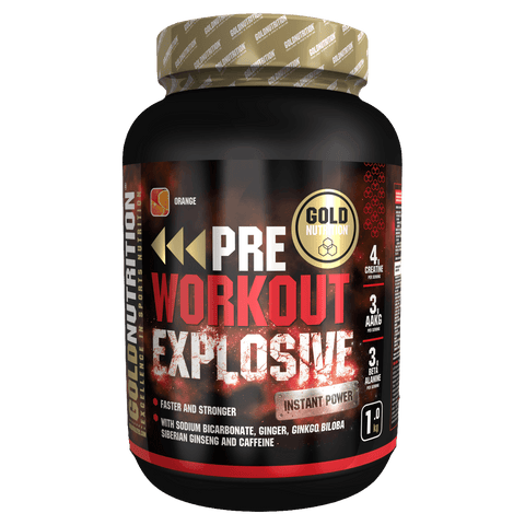Gold Nutrition Pre Workout Explosive | www.wshop.ro suplimente online