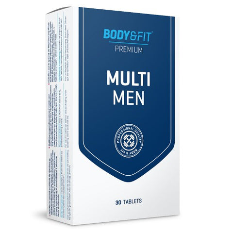 Multivitamine si minerale pentru barbati Body & Fit Multi Men