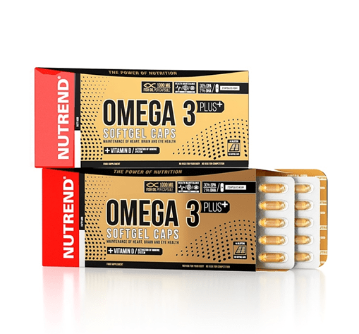 Nutrend Omega 3 fish oil | WSHOP.RO suplimente culturism by WorldClass