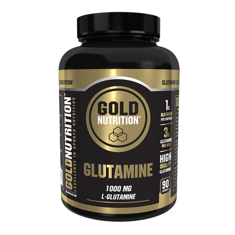 glutamina Gold Nutrition Glutamine 90 capsule | WShop.ro by WorldClass