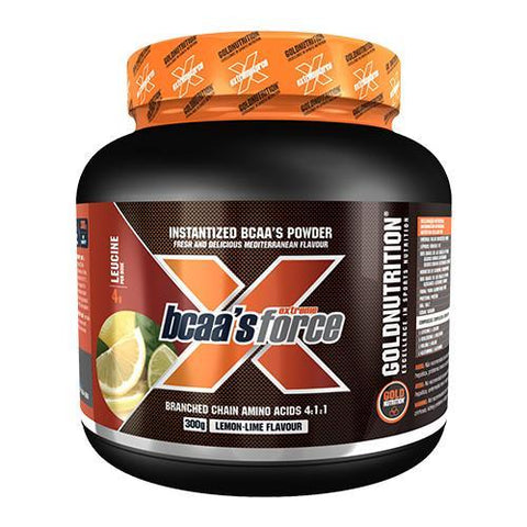 Gold Nutrition Extreme Force BCAA 300g | WShop.ro by WorldClass