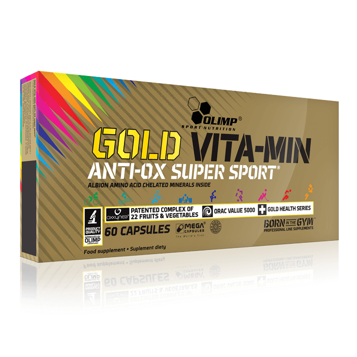 Olimp Gold Vita-Min Anti Ox super sport - multivitamine si minerale