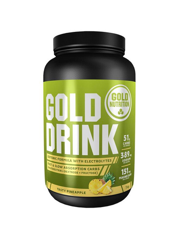 isotonic gold nutrition gold drink