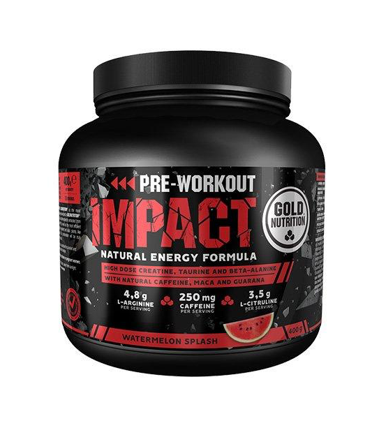 pre workout gold nutrition romania impact