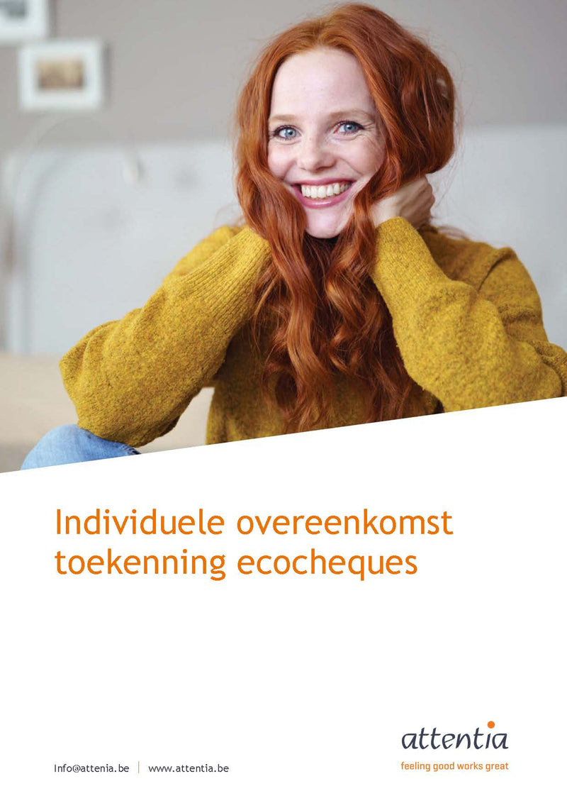 Individuele overeenkomst ecocheques