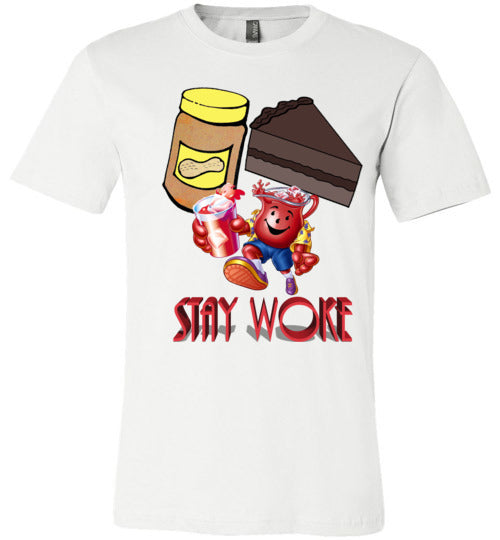 Stay Woke Mens Tee