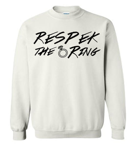 Respek the Ring Women's Crew Neck Sweat Shirt
