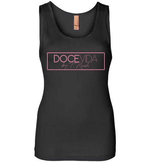 Doce Vida Ladies Bubblegum Logo Tank