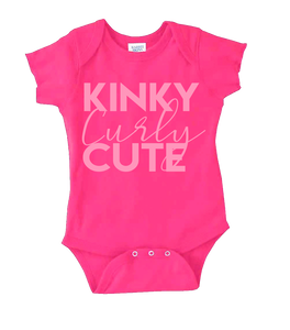 KINKY~CURLY~CUTE BABY GIRL BODYSUIT