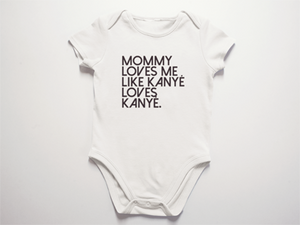 BABY GIRLS OR BABY BOYS KANYE BODYSUIT