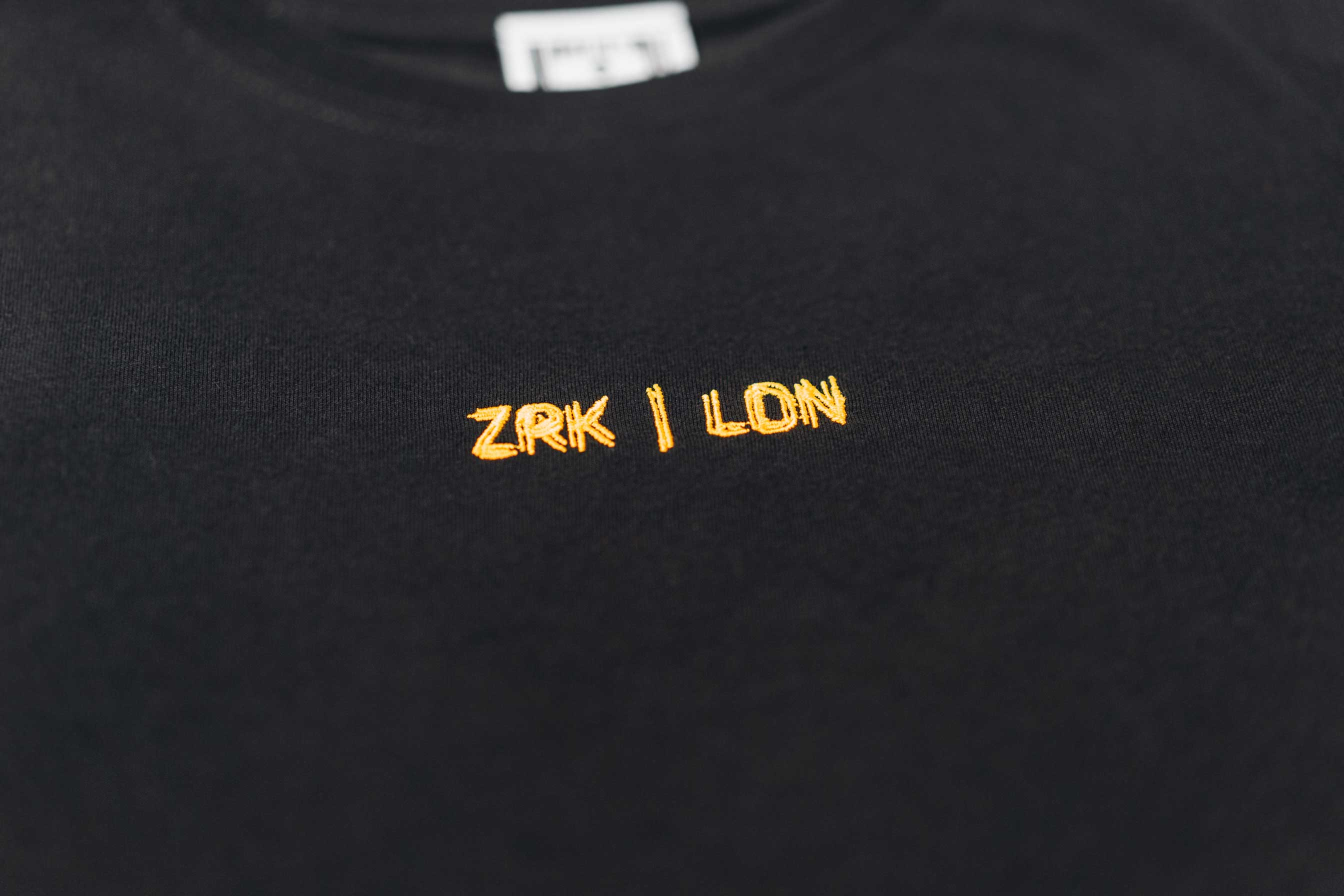ZEDUSA TEE // BLACK & YELLOW