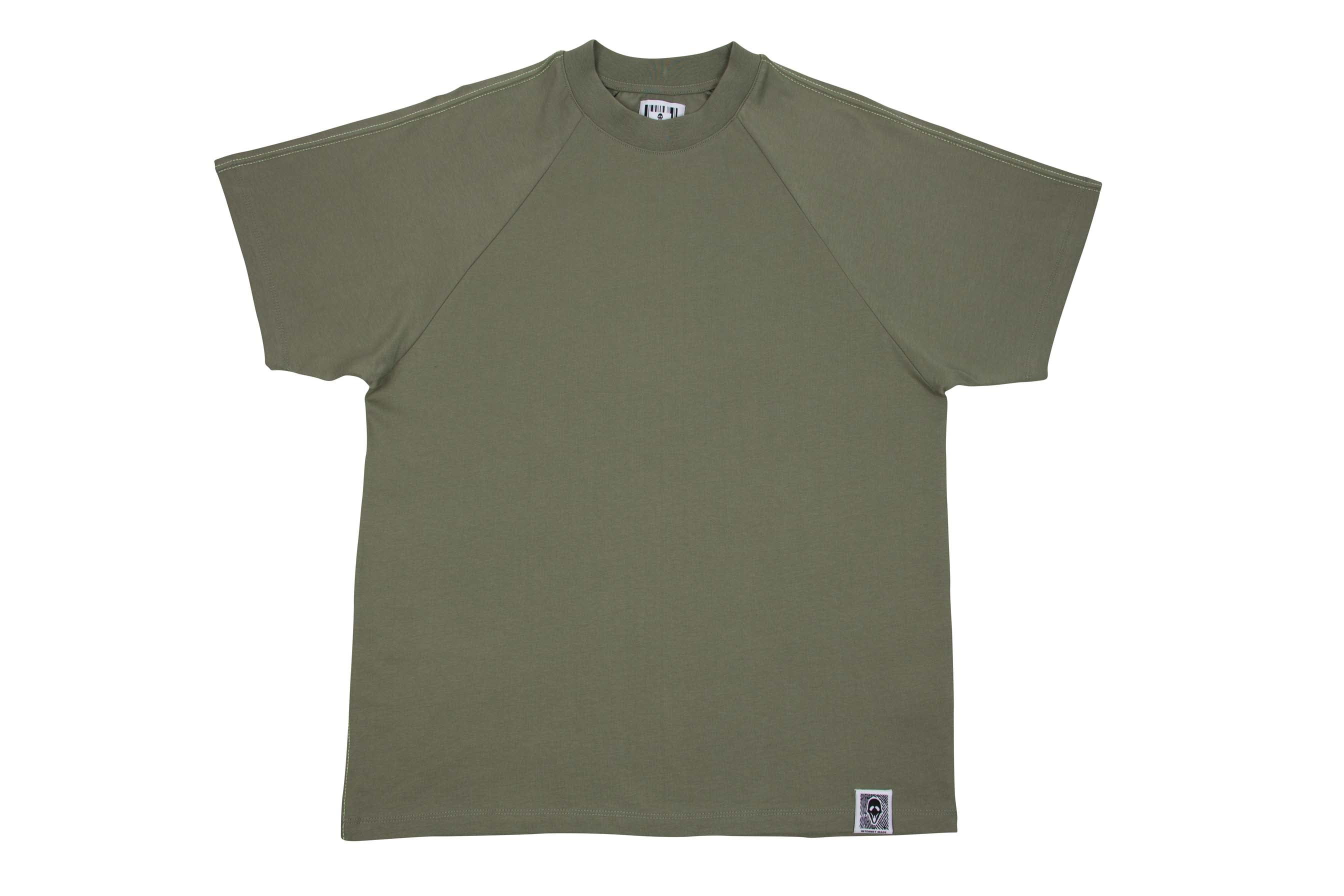 VEVITER LABEL TEE // GREEN