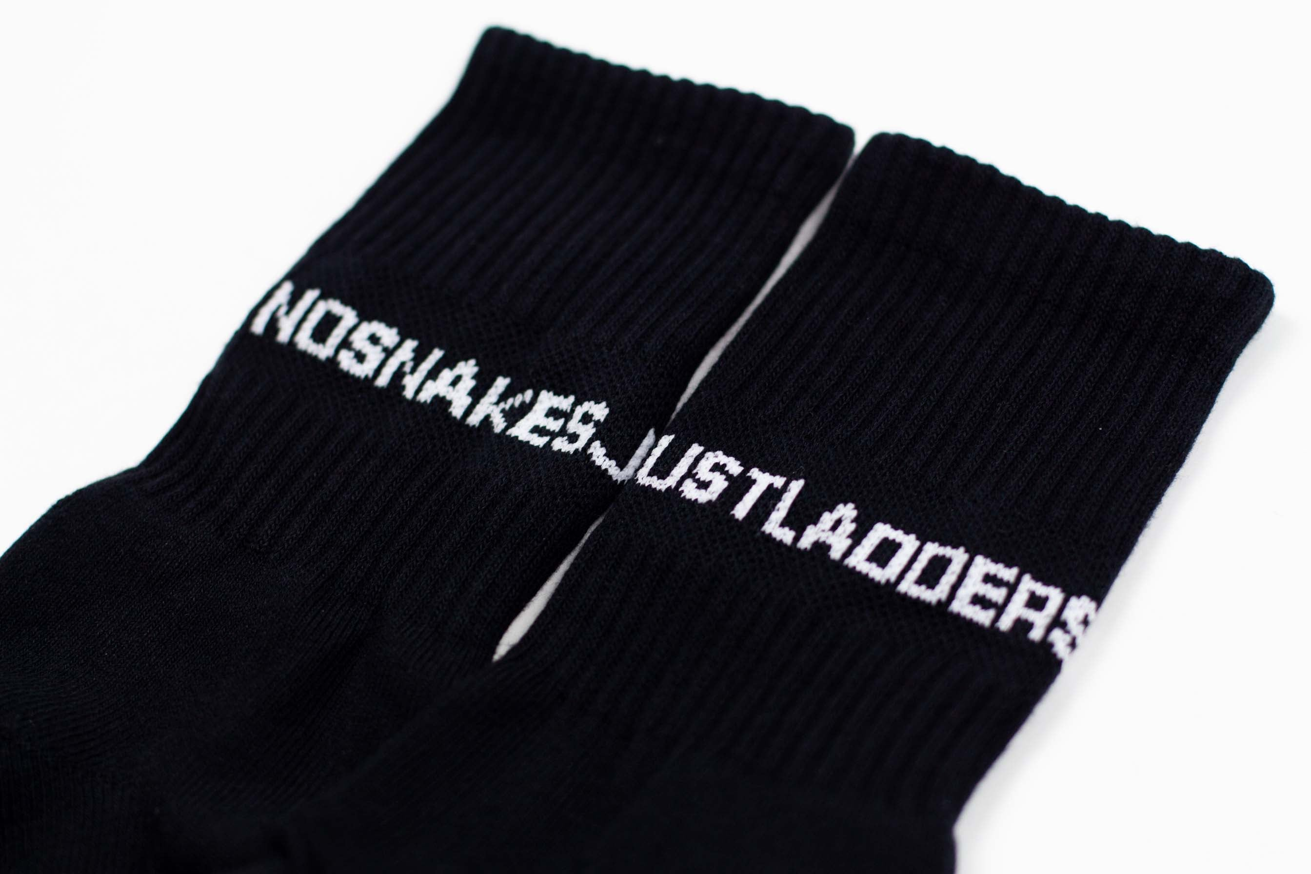 NSJL SOCKS // BLACK & WHITE
