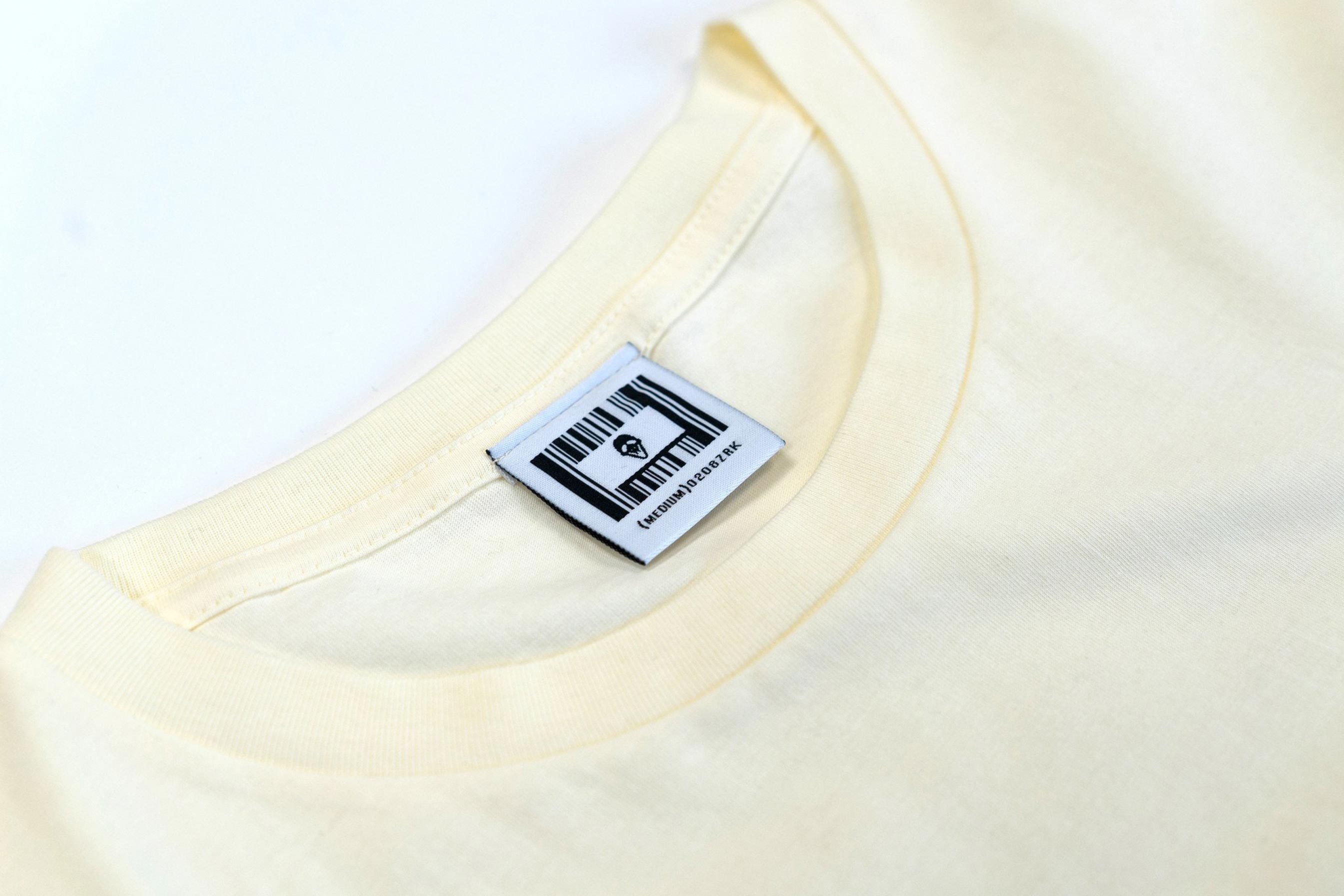 MASK LOGO TEE // OFF WHITE