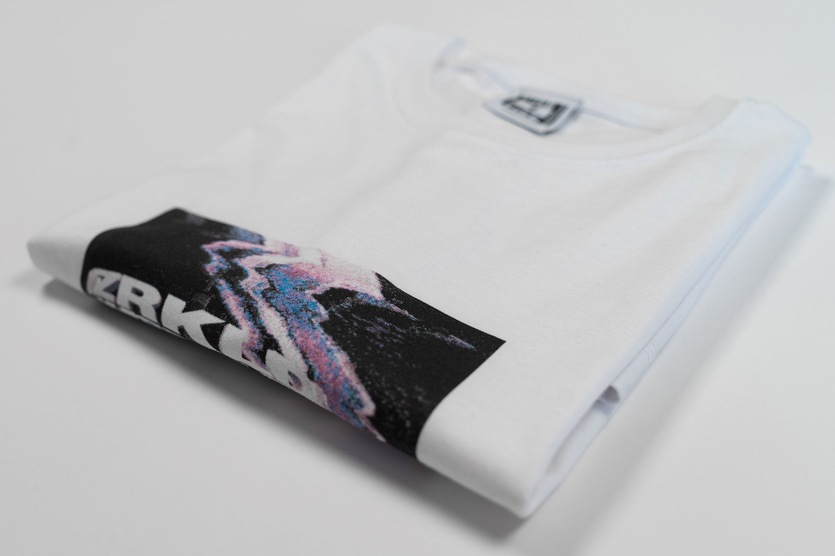 TV TOWER TEE // WHITE