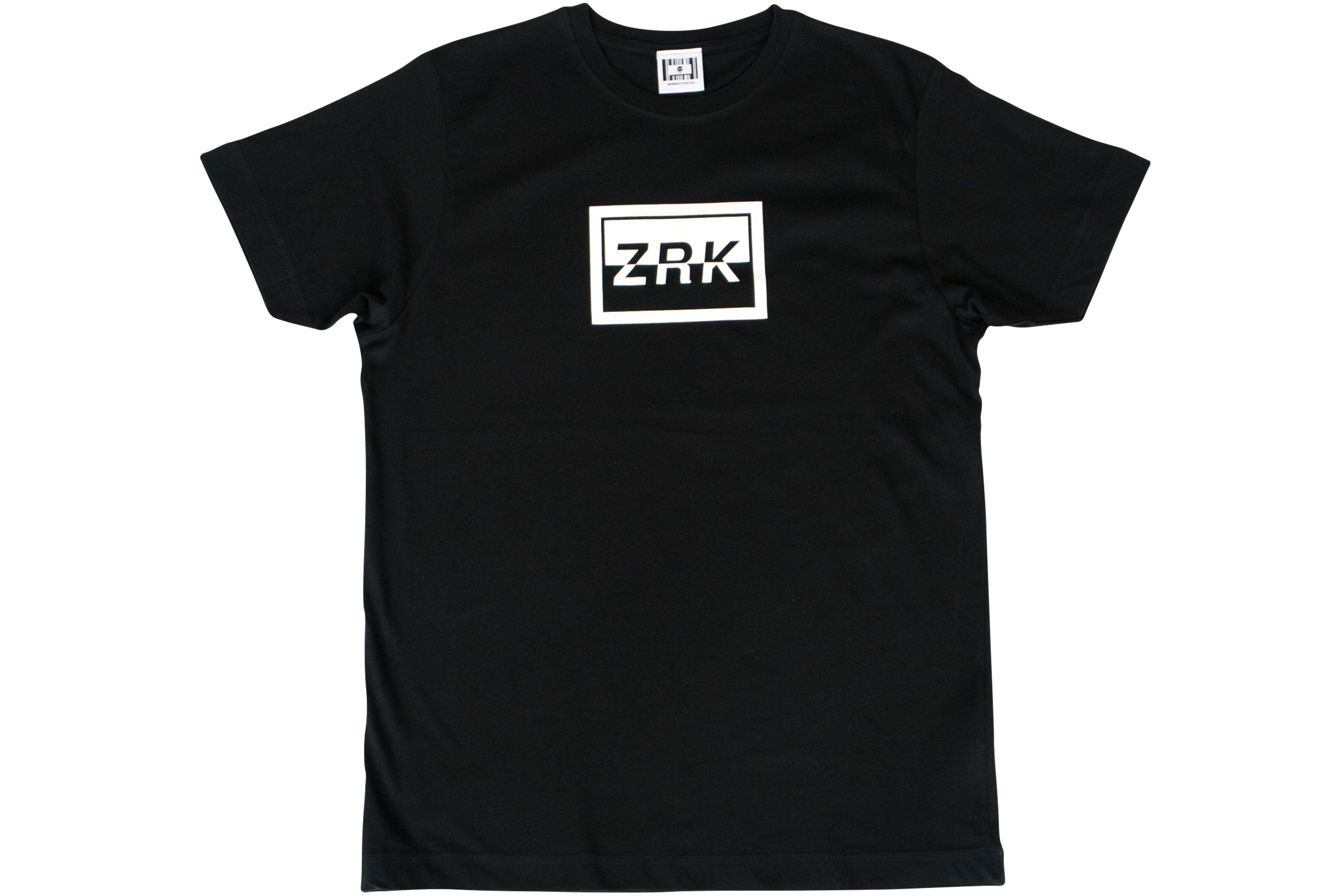 INVERTED BOX TEE // BLACK