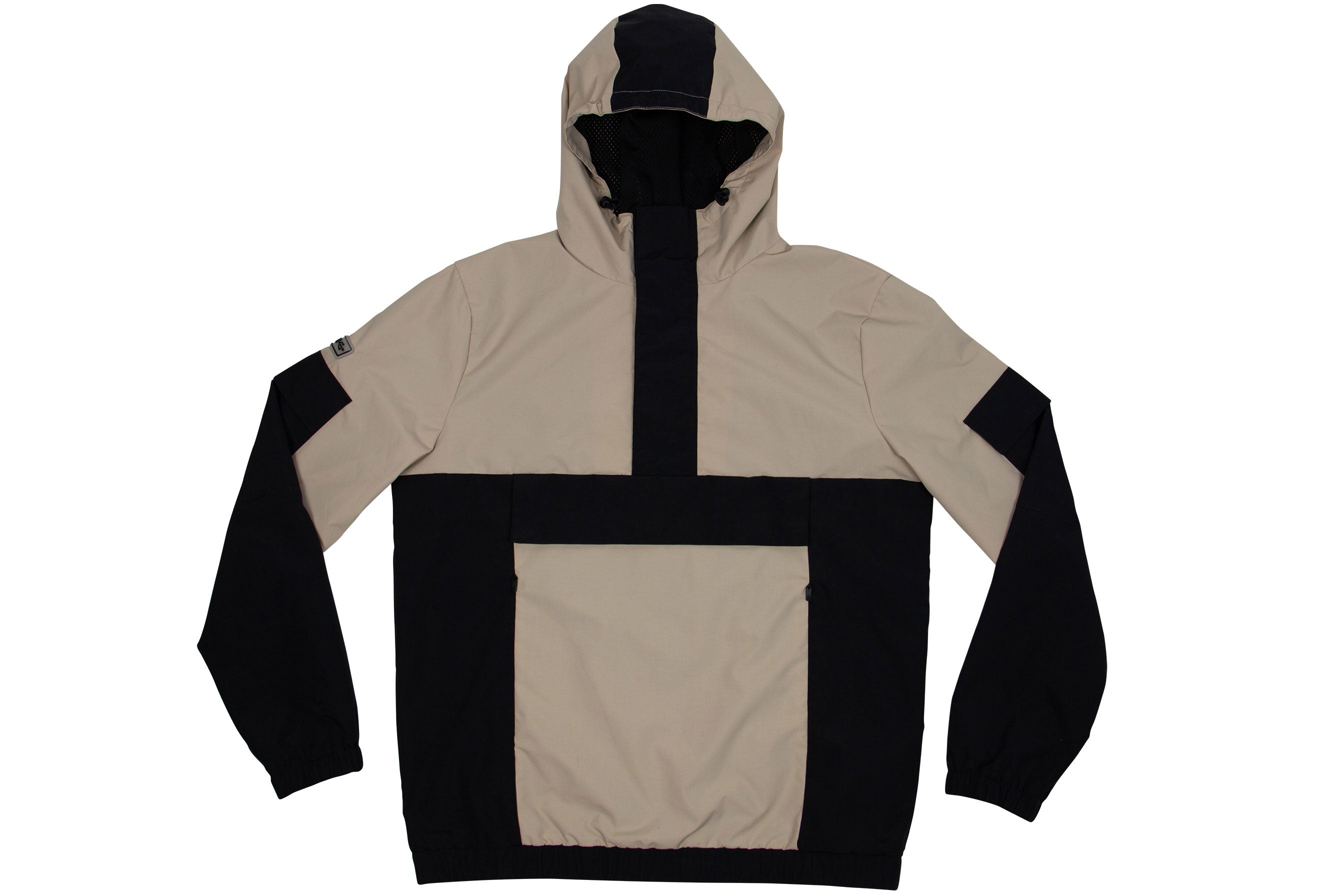 PULLOVER WATERPROOF JACKET // SAND