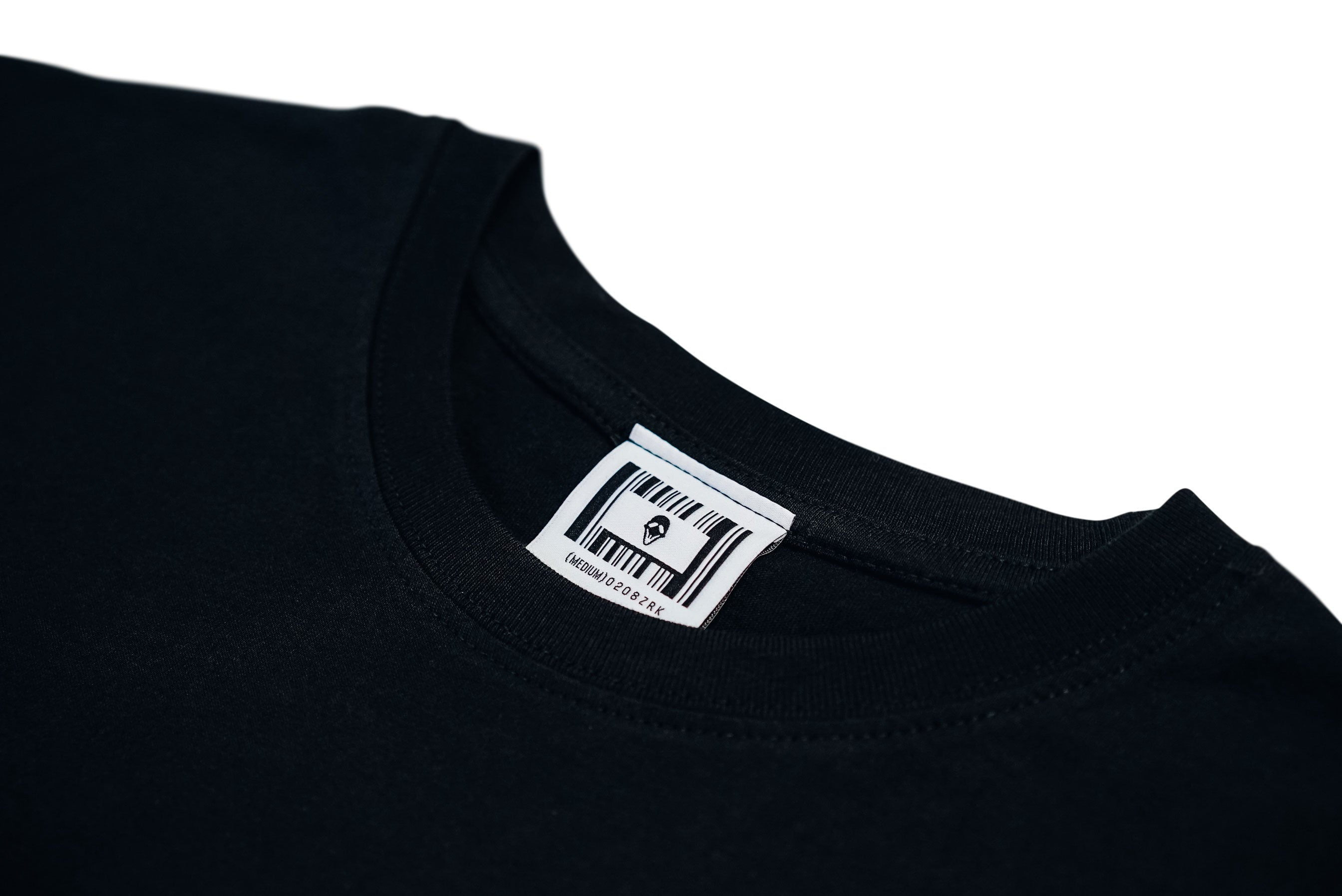 MASK LOGO TEE // BLACK