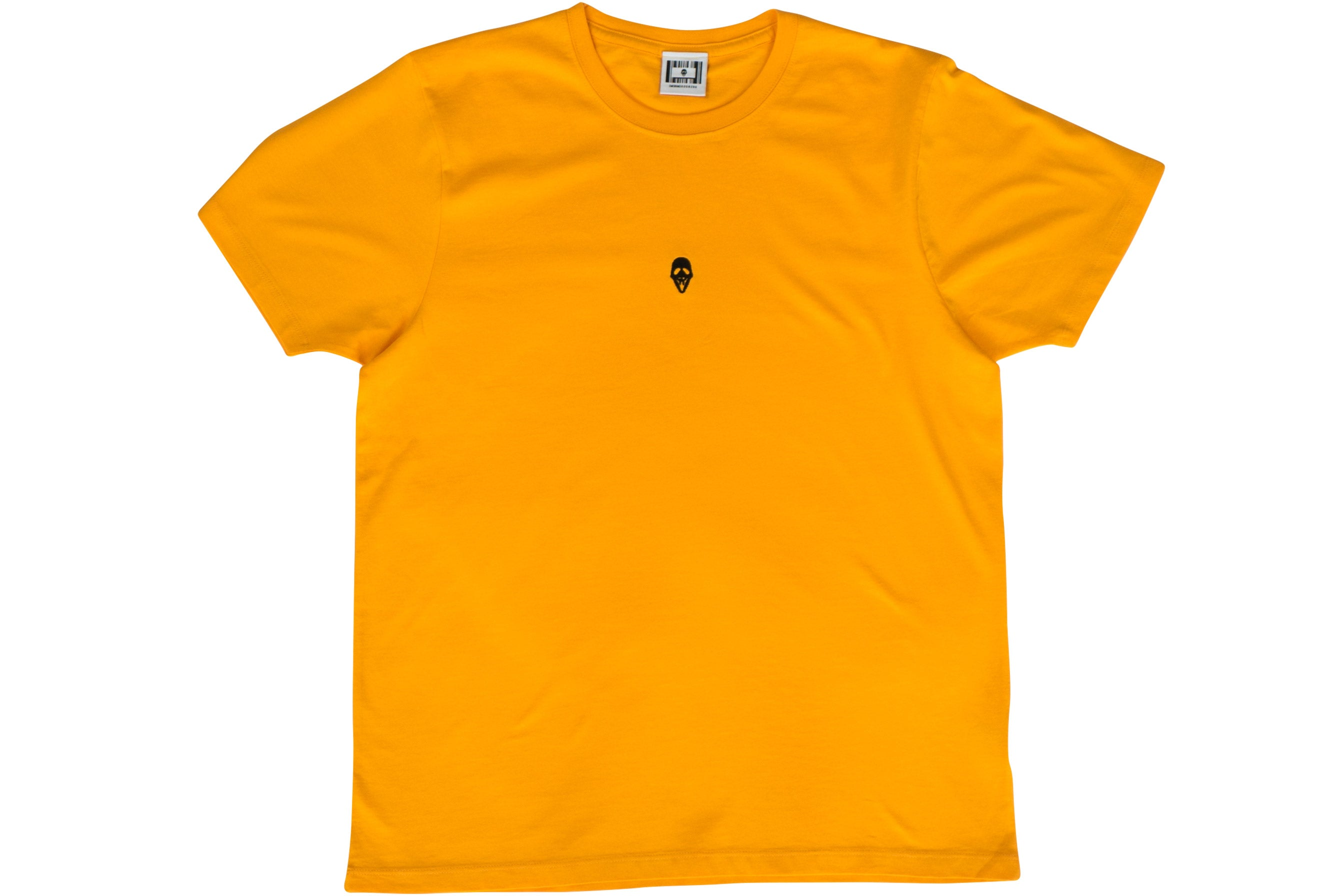 MASK LOGO TEE // YELLOW
