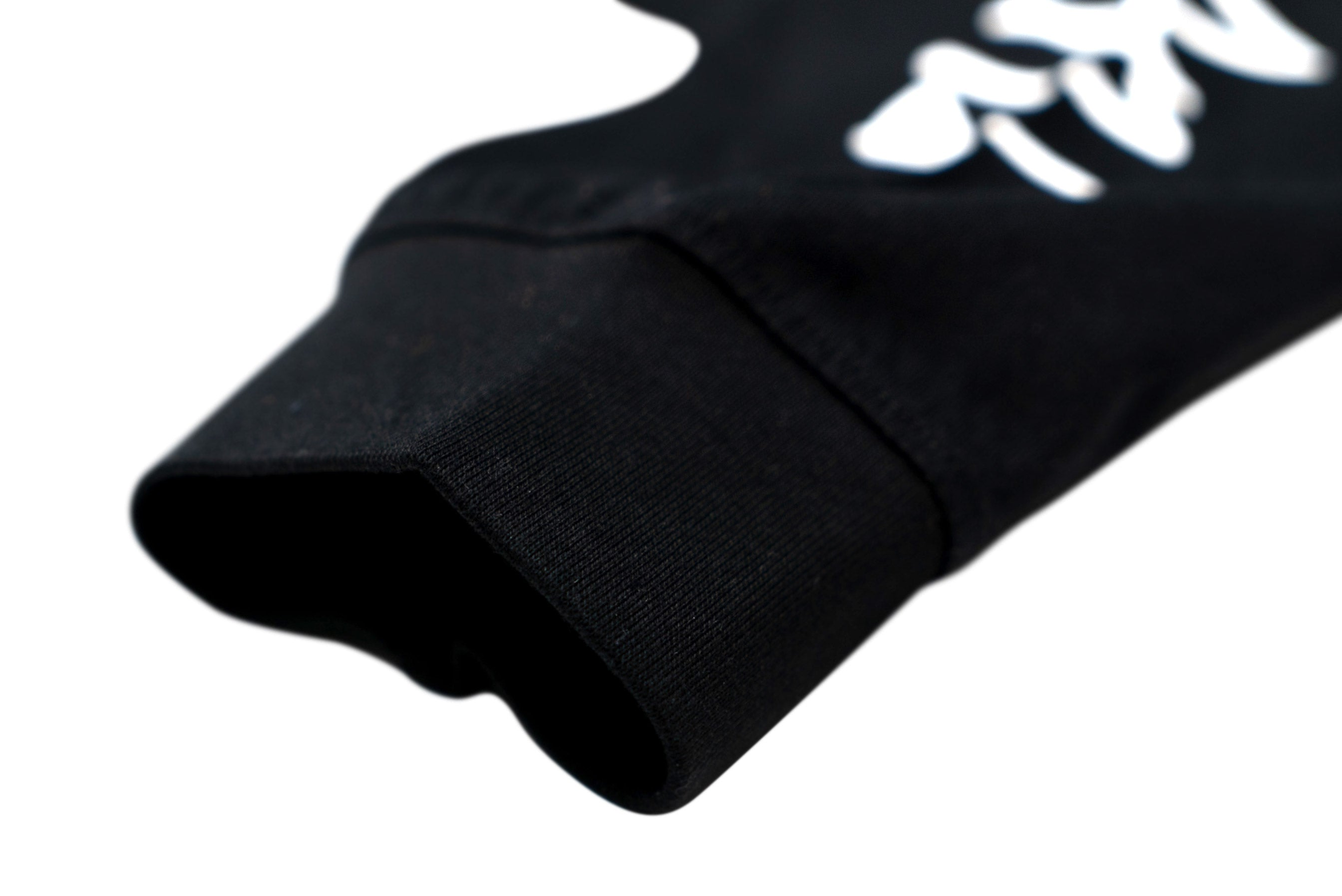 PLAYTIME IS OVER LONG SLEEVE TEE // BLACK
