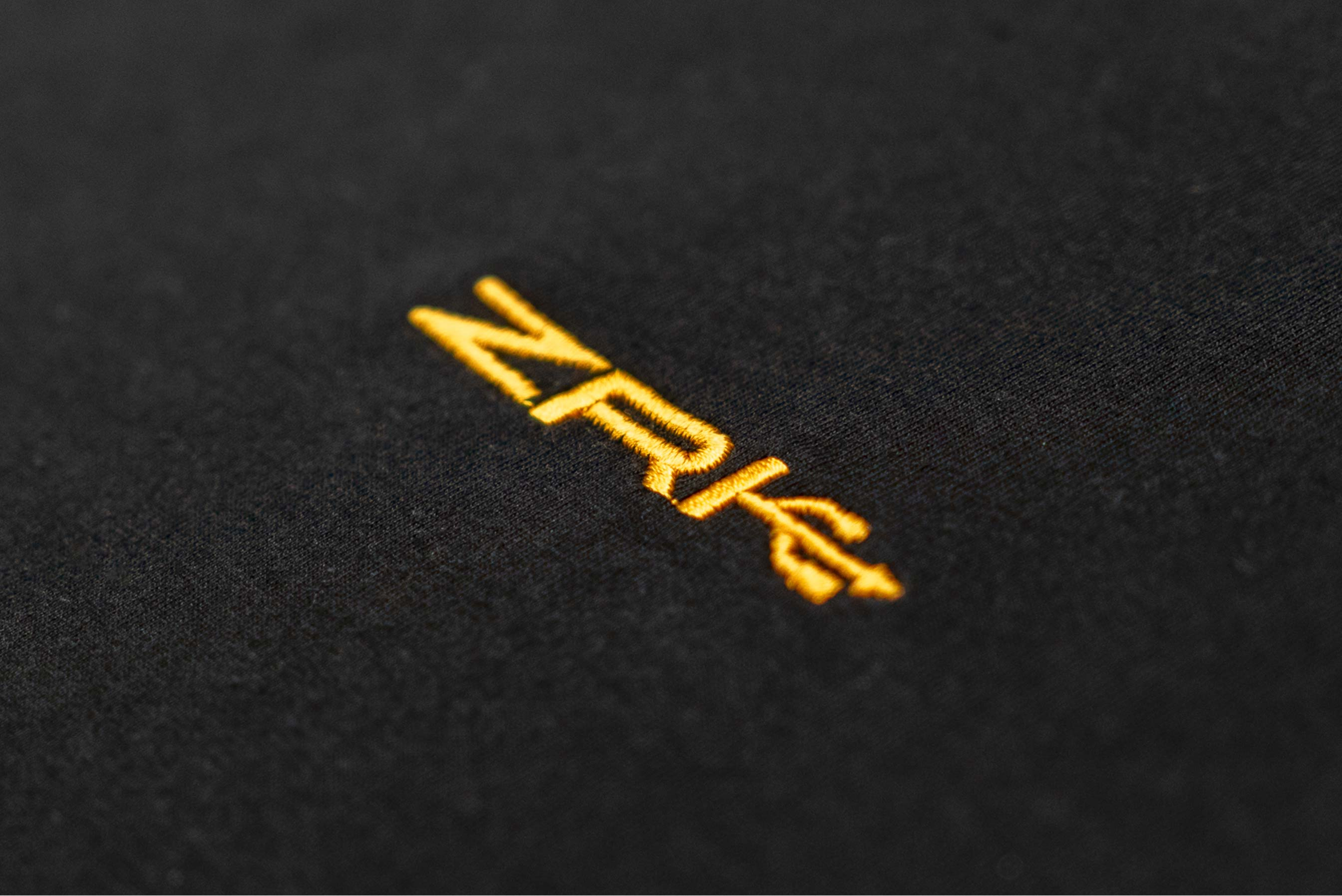 ZRK USB LOGO TEE // BLACK & GOLD