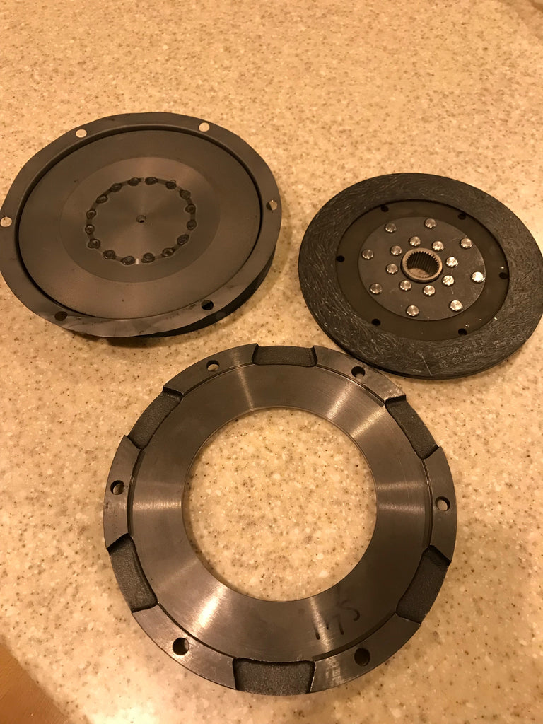 1979 BMW Clutch and compression plate