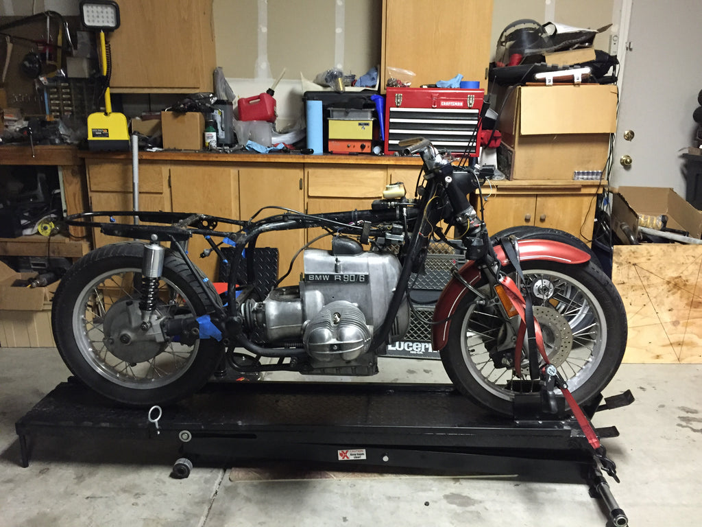 1976 BMW R90/6 Green Machine Starts its disassembly!