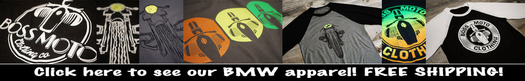 BMW Motorcycle Tee Shirts and Apparel