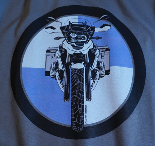 BMW GS Logo Motorcycle Tee Shirt