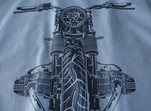 BMW Airhead Boxer Black Motorcycle Tee Shirt
