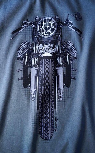 Moto Guzzi Color Motorcycle Tee Shirt