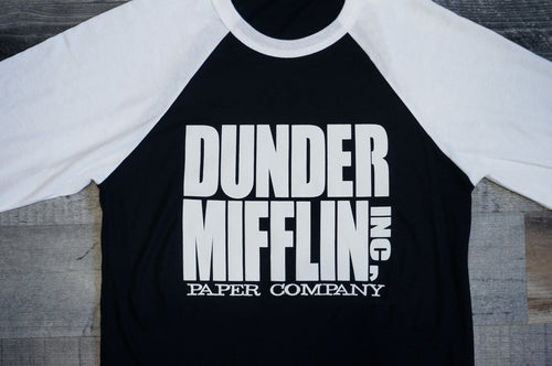 The Office- Dunder Mifflin Paper Company Graphic Tee