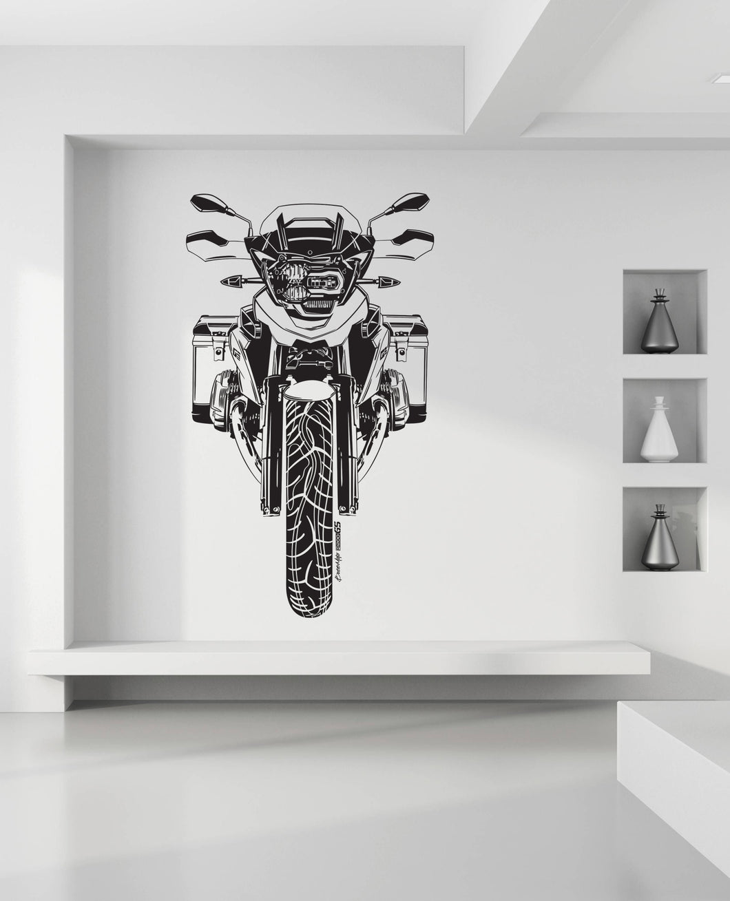 BMW GS Boxer Premium Vinyl Wall Decal